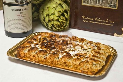 crostata visciole mandorle kosher