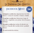 facebook menù taverna del ghetto