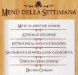menù della settimana 8 14 luglio taverna del ghetto