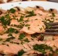 carpaccio salmone marinato