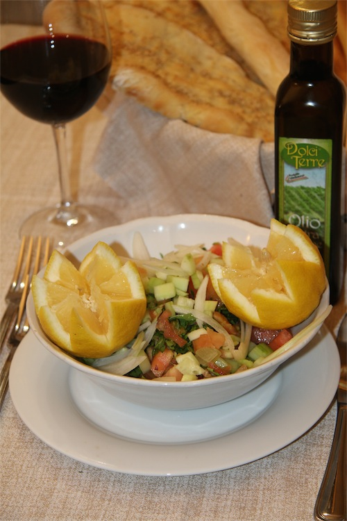 ricetta insalata mediorientale