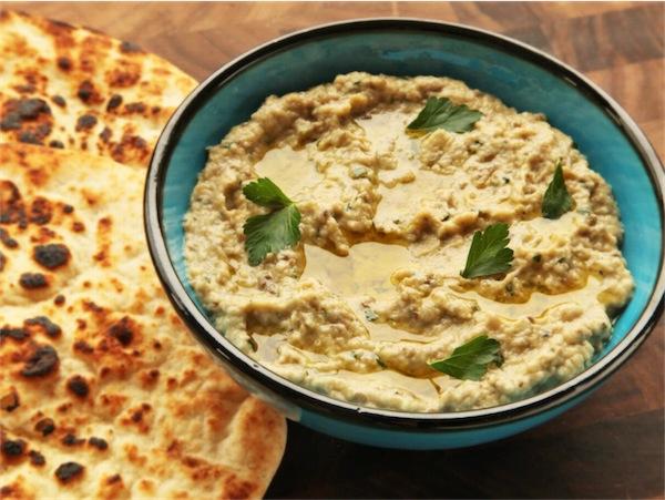 Babaganoush salsa melanzane ricetta israeliana