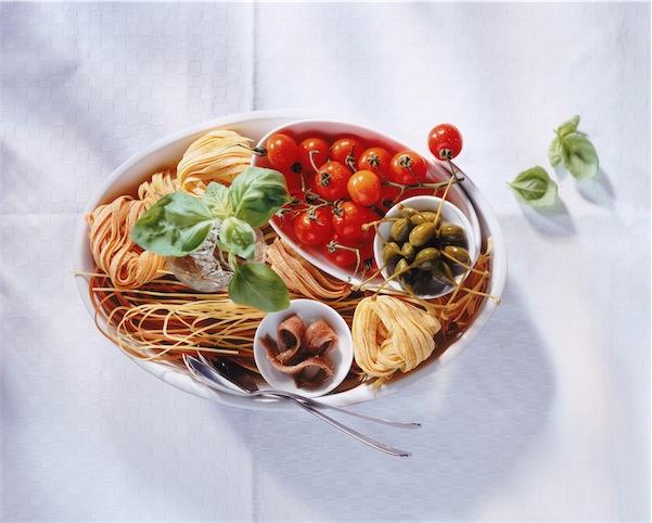 ricetta pasta alici pomodorini pangrattato