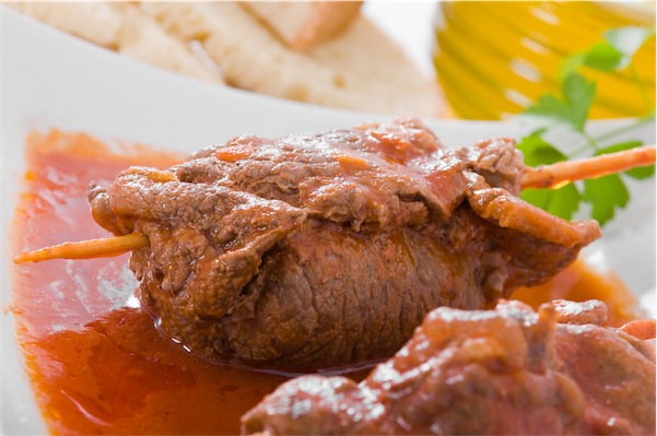 involtini carne carciofi ricetta